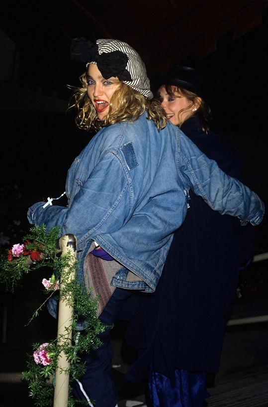 Madonna na archivním snímku.