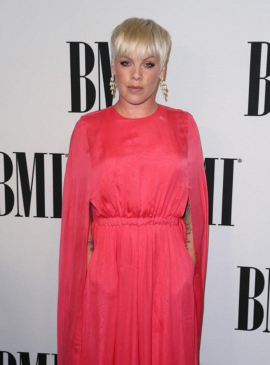 Pink od začátku kariéry tvrdili, že je ošklivá.