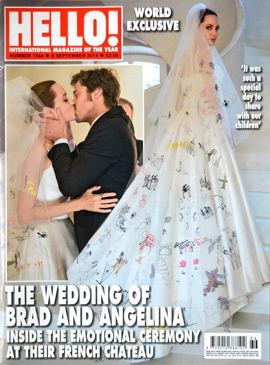 Ke svatbě Brangeliny došlo až roku 2014.