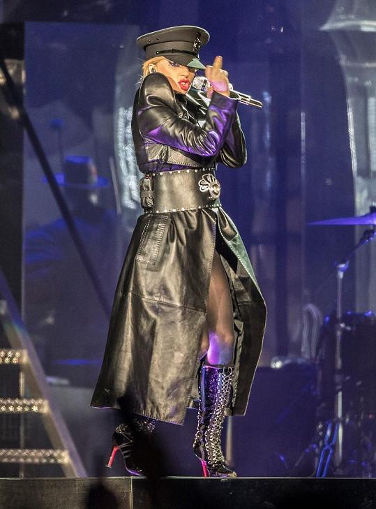 Vystoupení Lady Gaga je obvykle nabité energií.