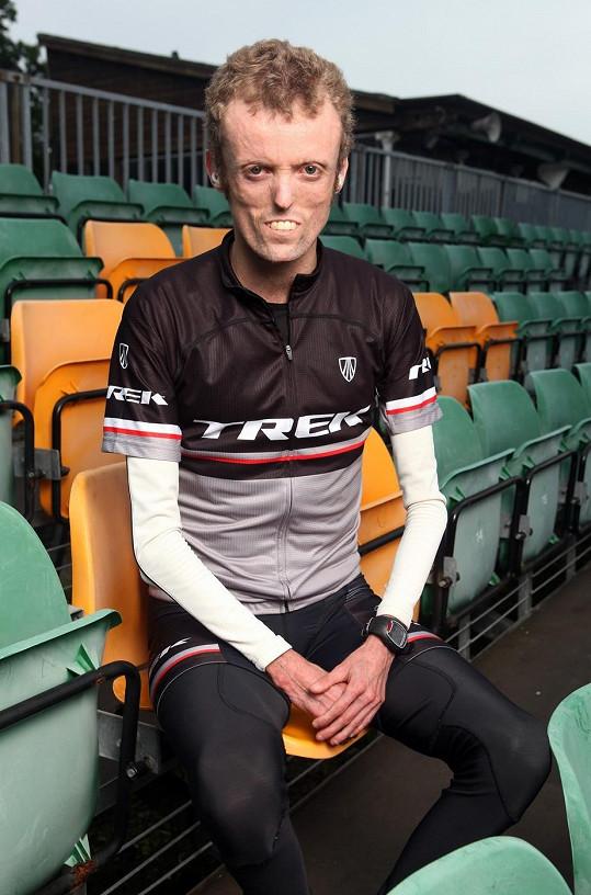 Tom Staniford by jednou chtěl být nejlepším paracyklistou světa.