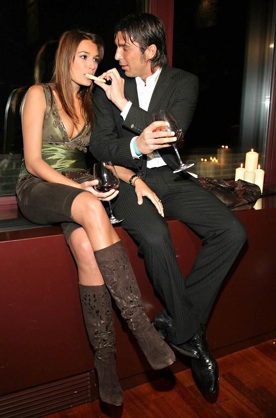Gigi Buffon si Alenu Šeredovou uměl hýčkat.