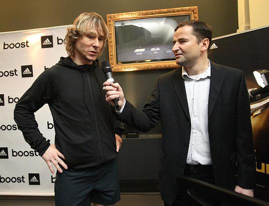 Dopolednem na tiskové konferenci provedl moderátor a sportovní komentátor Robert Záruba.