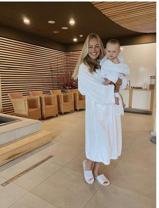 Renata Langmannová s dcerou Medou