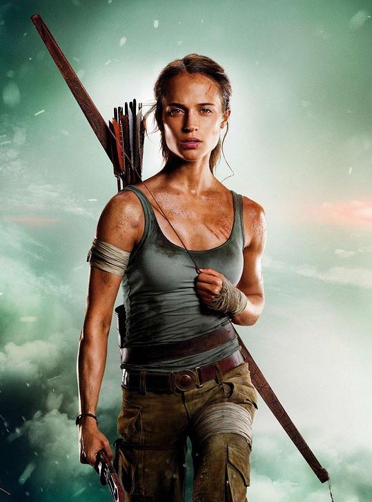 Alicia Vikander se letos v kinech předvedla jako Lara Croft.