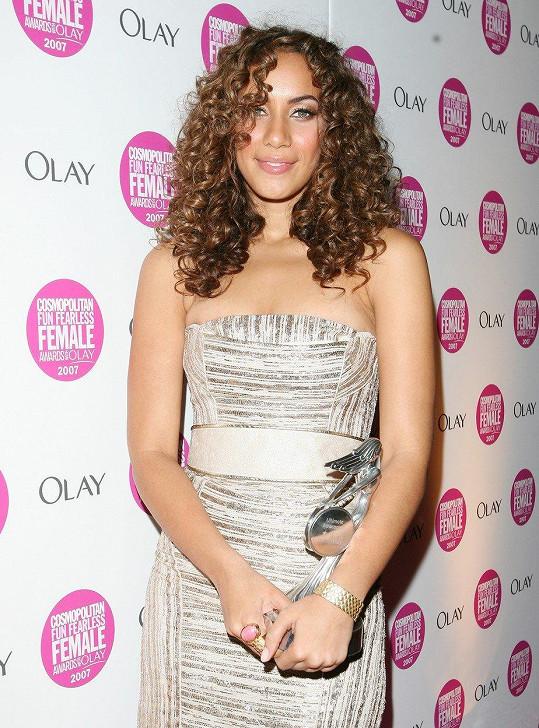 Leona Lewis v době, kdy zvítězila v X Factoru