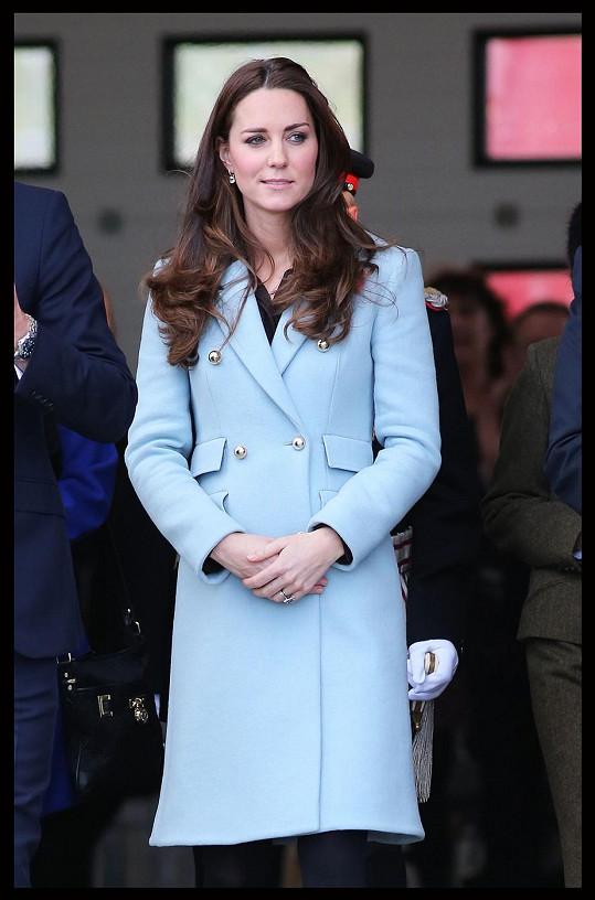 Vévodkyni mateřství svědčí.