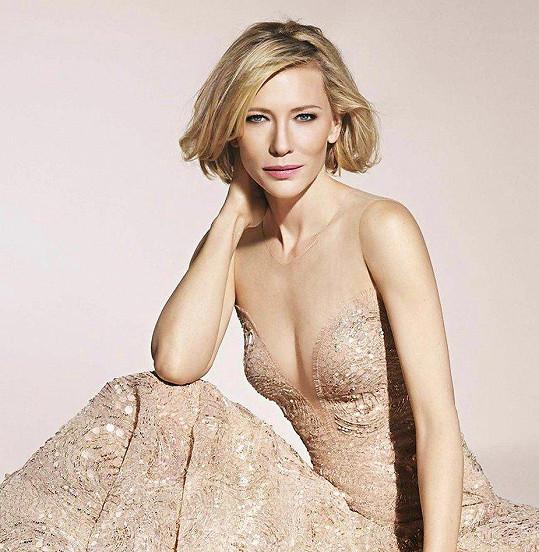 Cate Blanchett alias krásné Galadriel kulatiny také klepou na dveře.