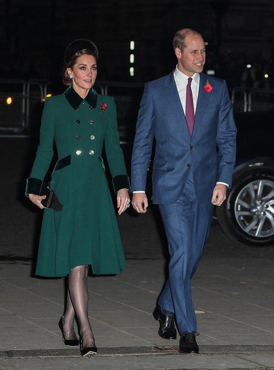 William a Kate mají už tři děti.