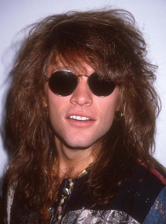 Jon Bon Jovi na archivním snímku