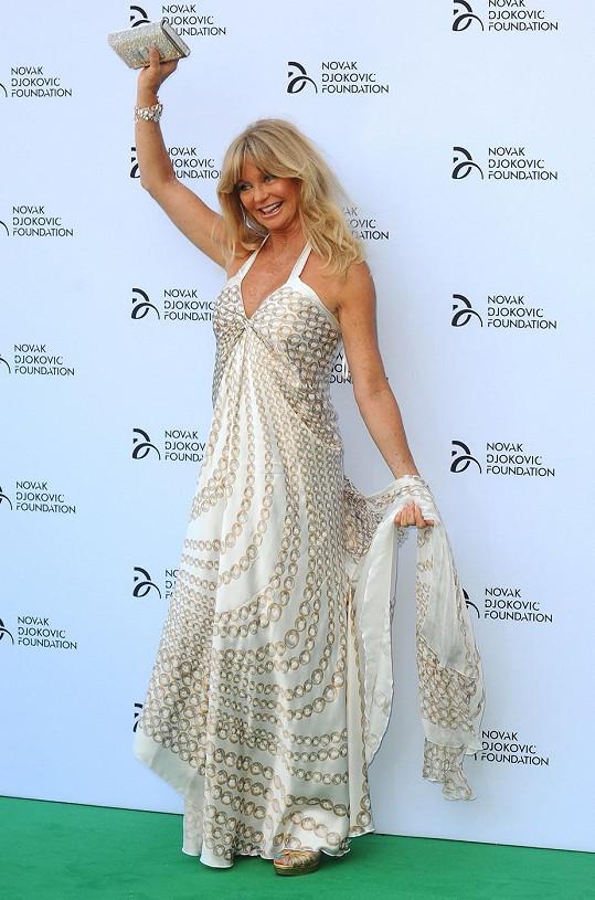 Goldie Hawn to náramně slušelo.