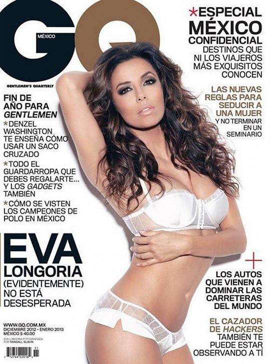 Eva Longoria na titulce časopisu