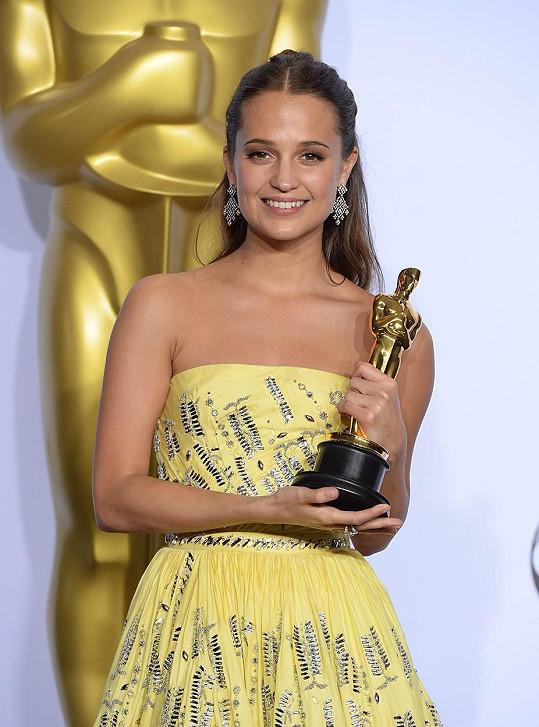 Vikander letos získala Oscara za svůj herecký výkon v Dánské dívce.