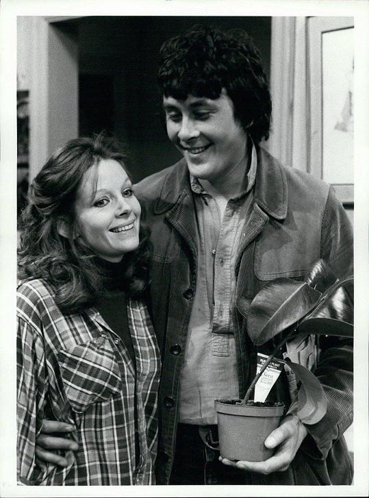 Richard Beckinsale (na snímku s Annou Calder Marshall)