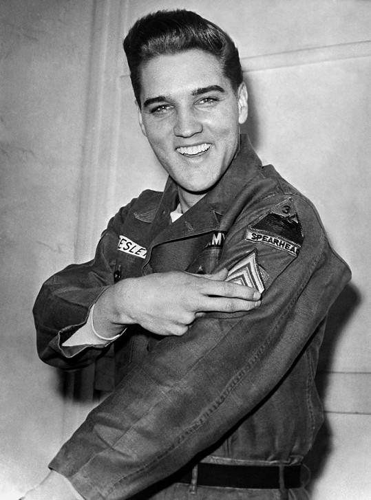 Elvis Presley v roce 1960