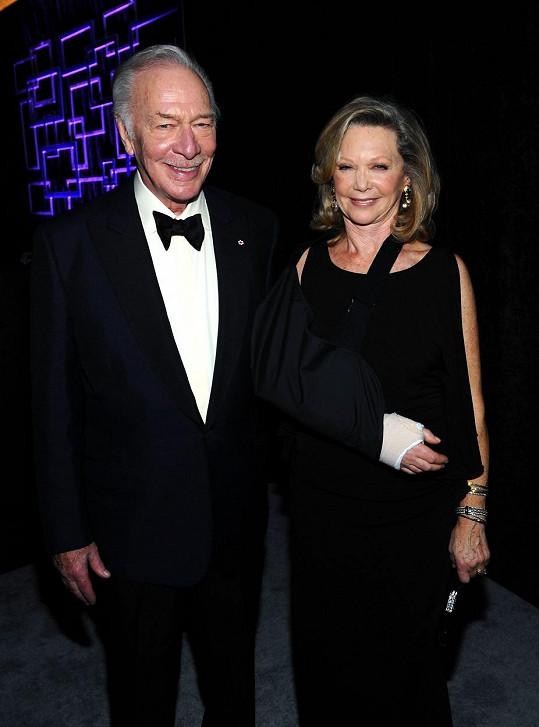 Christopher si vzal svou třetí ženu Elaine Taylor v roce 1970.