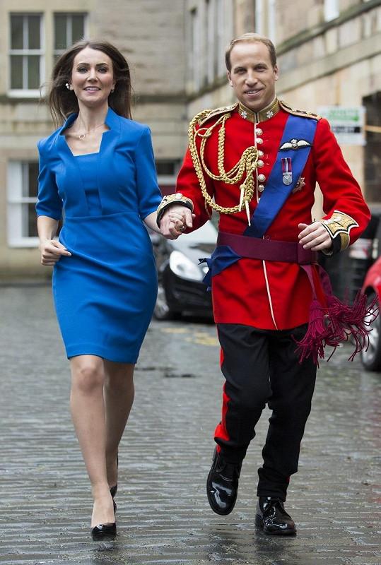 Tato dvojice si podobou s Williamem a Kate přivydělává poměrně často.