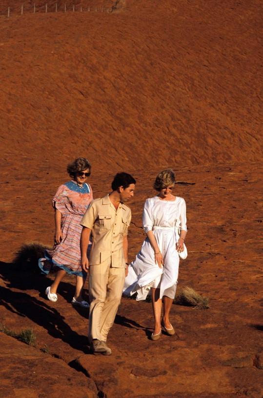 Posvátné místo kdysi navštívili i princezna Diana s Charlesem.