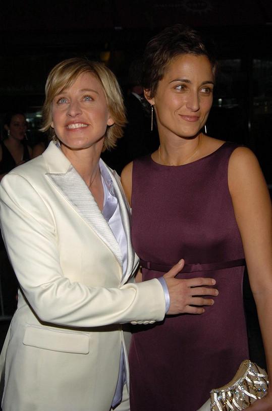 Alexandra strávila tři roky s Ellen DeGeneres.