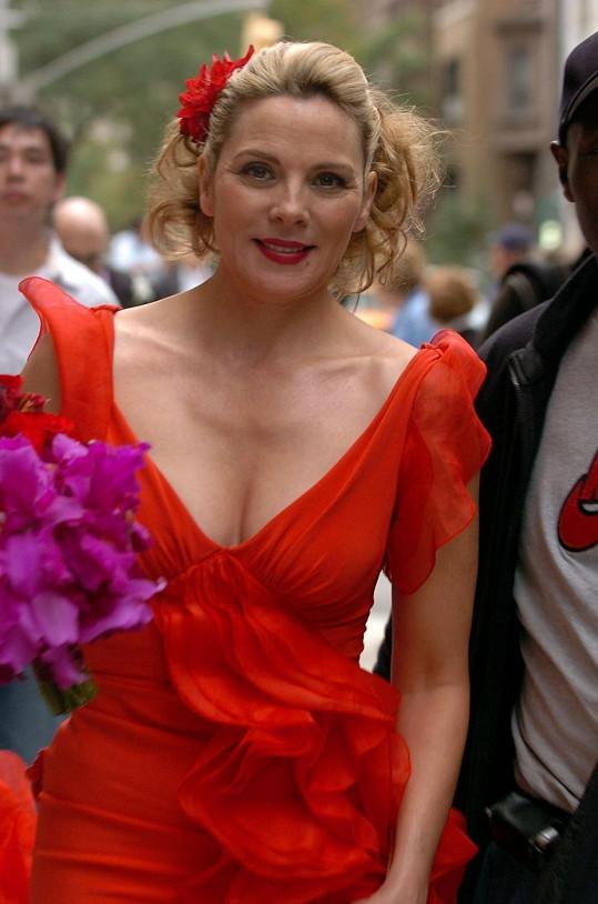 Takhle se objevila v jedné z epizod Sexu ve městě.