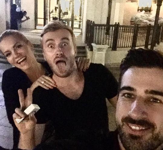 V Dubaji žijí zpěvaččini kamarádi Jakub a Martin, i to je jeden z důvodů, proč se sem tak ráda vrací.