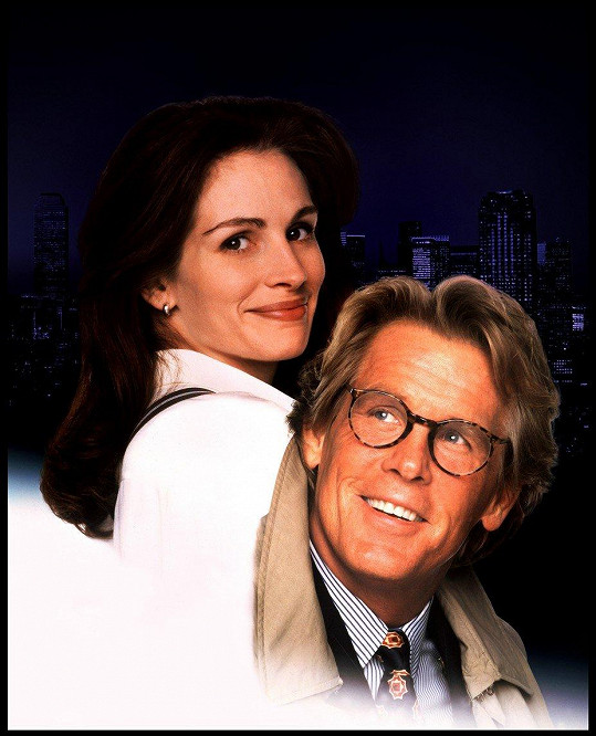 S Julií Roberts ve filmu Zbožňuju trable (1994)