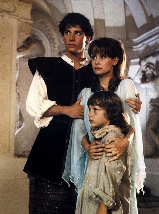 Jitka Schneiderová v pohádce Jezerní královna (1998)