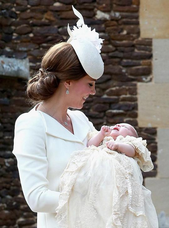 Kate s dcerkou Charlotte
