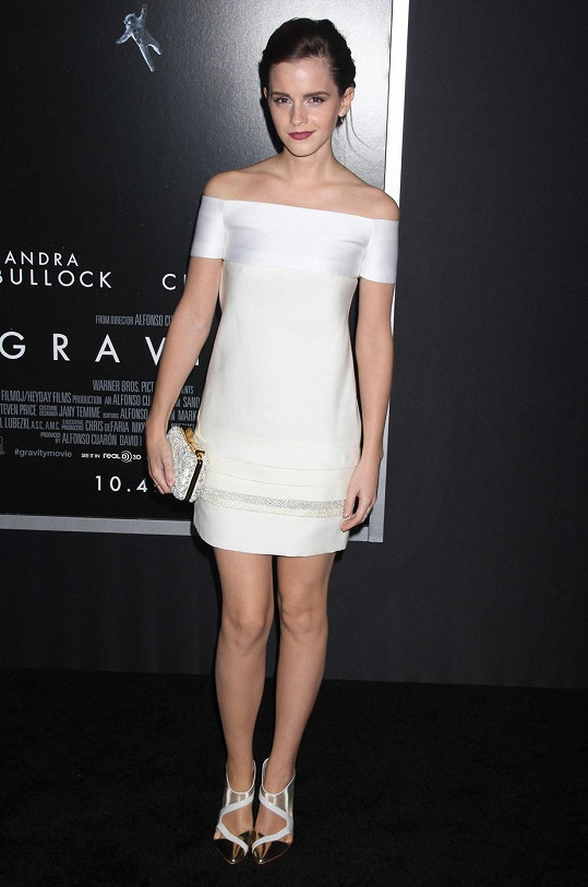Emma Watson na premiéře
