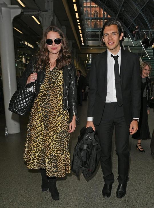 Keira Knightley a James Righton jsou dvojnásobnými rodiči.