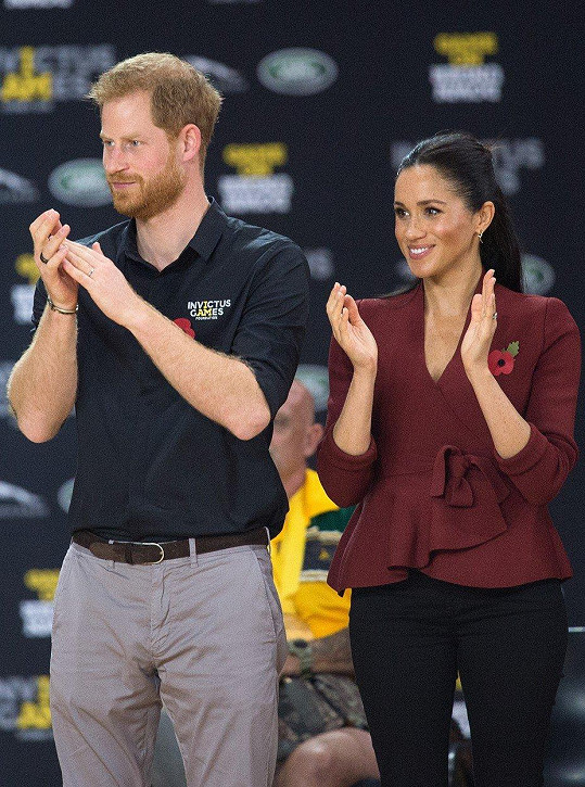 Harry a Meghan vyrazili na Invictus Games.