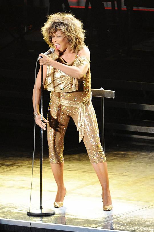 Tina Turner a její nezdolná energie na pódiu