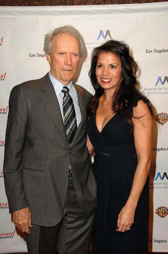Clint Eastwood a Dina