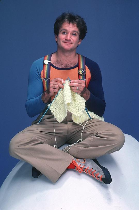 Robin Williams na samém počátku své kariéry...