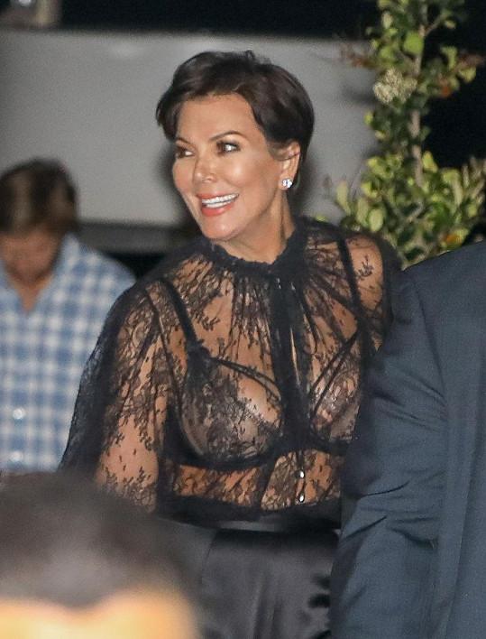 Kris Jenner chce být sexy šedesátnicí.