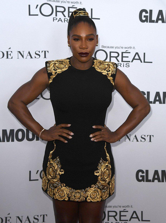 Serena Williams na Glamour Women of the Year