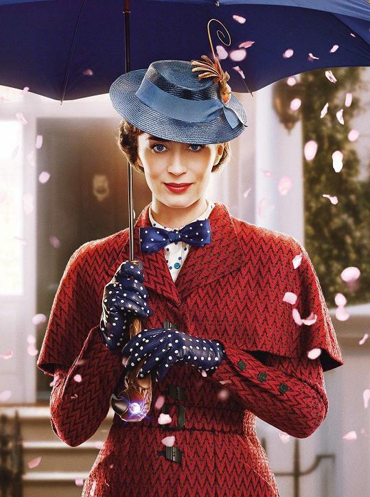 Emily jako Mary Poppins