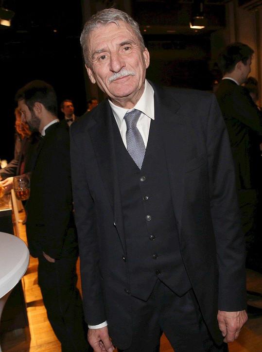 Martin Huba bodoval s filmem Hovory s TGM.