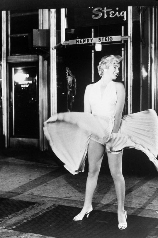 Legendární scéna Marilyn Monroe ze Slaměného vdovce