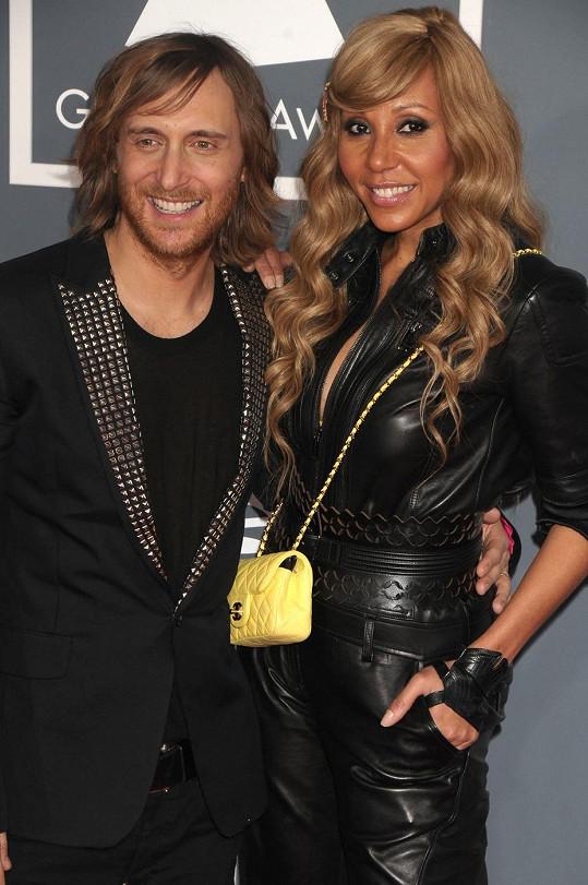 Guetta se svou manželkou Cathy