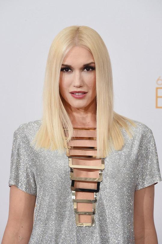 Gwen Stefani před půl rokem porodila syna Apolla.