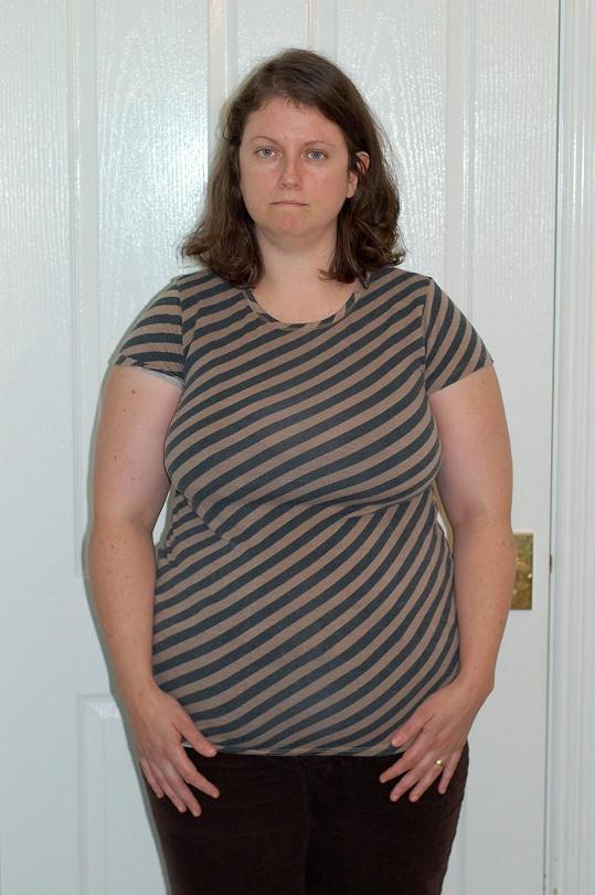 Hannah se rozhodla zhubnout a změnit svůj život poté, co jí bylo zakázáno nasednout na koně.