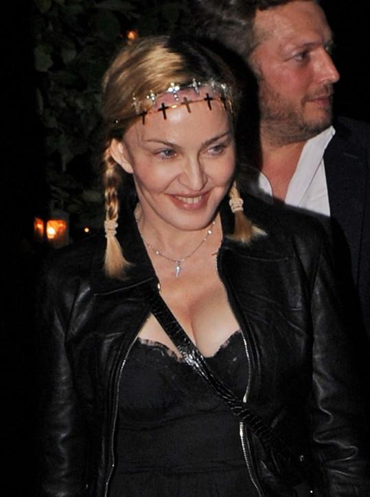 Madonna má konečně zase spokojený úsměv na tváři.