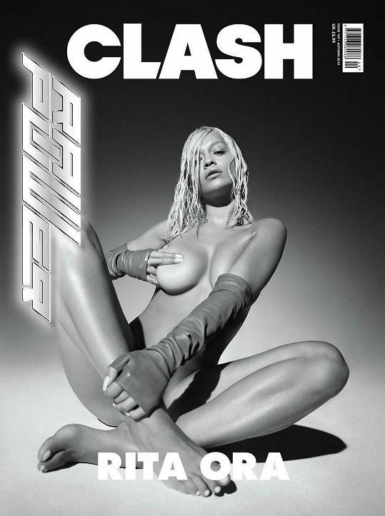V roce 2018 se svlékla pro časopis Clash