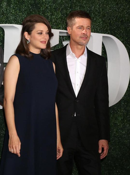 Brad a Marion by tvořili krásný pár... herci však milostný poměr popřeli.