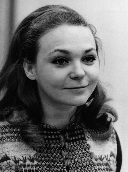 Klára Jerneková patřila k půvabným českým herečkám.