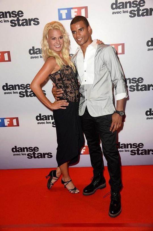 Brahim Zaibat se svou taneční partnerkou ve francouzské verzi soutěže StarDance