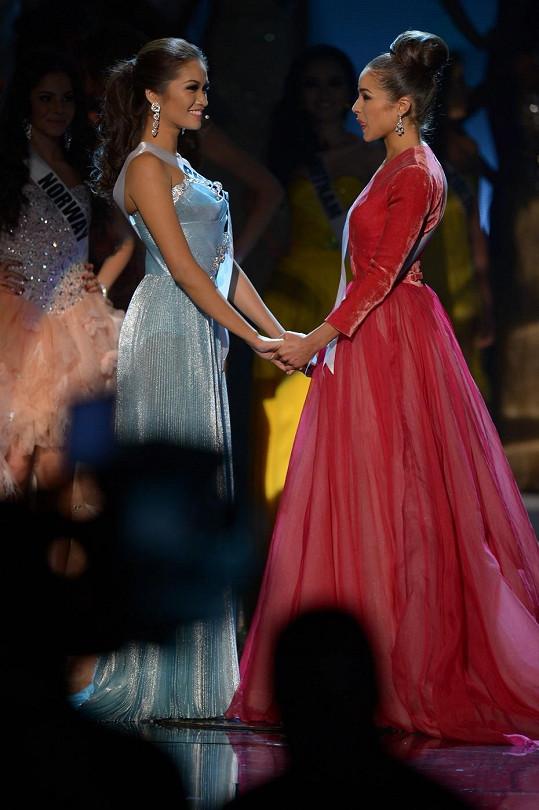 O Miss Universe se rozhodovalo mezi Olivií Culpo a Janine Tugonon z Filipín.