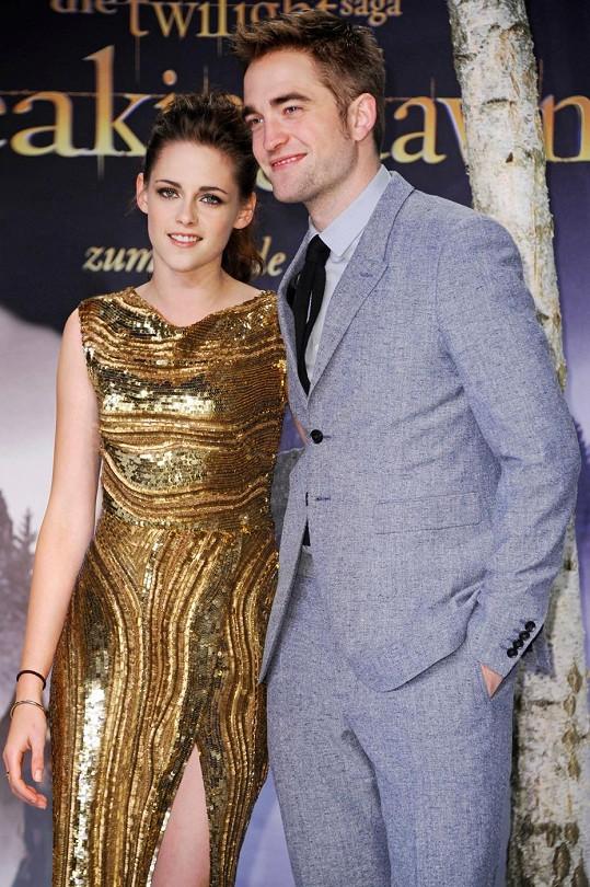 Robert s bývalou přítelkyní Kristen Stewart.