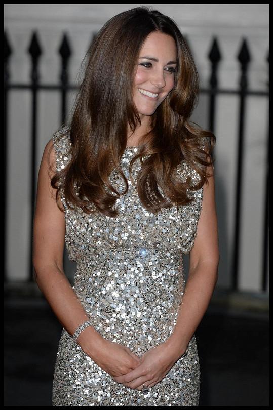 Kate je překrásnou maminkou...